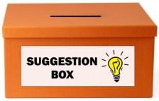 Keep Vaughan Green Suggestion Box